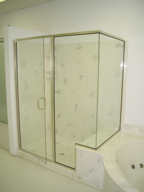 Semi Frameless Shower Enclosures custom shower doors - frameless vs. semi-frameless - worth the cost???