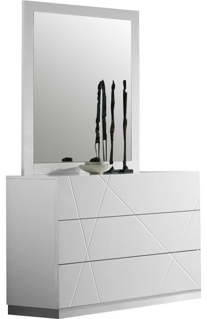 Naples Dresser And Mirror.