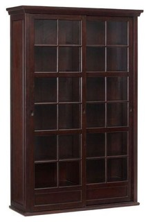 Exceptionnel Pottery Barn Garrett Glass Cabinet   Contemporary   Buffets And Sideboards    By Chairish