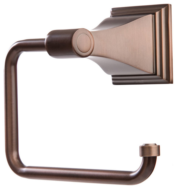 oil rubbed bronze toilet paper holder. Arista Leonard Collection TP Holder, Oil Rubbed Bronze Toilet Paper Holder