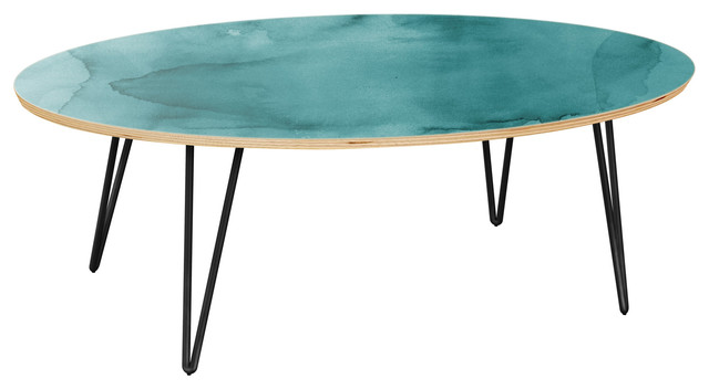 Ondine Hairpin Coffee Table - Pacific Waters