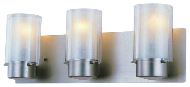 Bathroom Lights Essex dvi lighting dvp9043bn-op essex bathroom light, buffed nickel