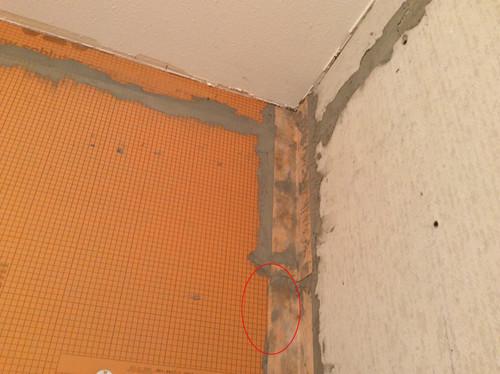 Is The Contractor Creating A Waterproof Schluter Kerdi Shower?
