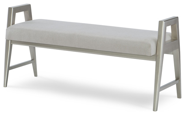 Legacy Classic Furniture Hygge Collection Bed Bench In Cashmere 7600-4800. -1