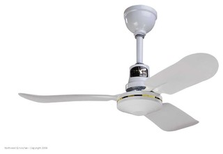 Envirofan 136f 7 Gold Line White 36 Ceiling Fan View In Your Room Houzz