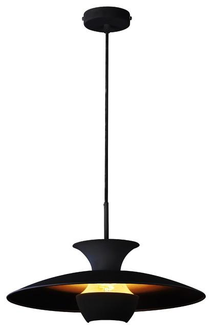 Emily Scandinavian Pendant Light, Black