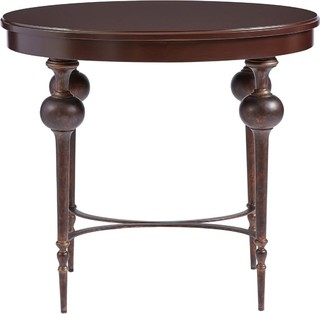 Stanley Furniture Co Inc Lamp Table, Stanley Furniture Adriana, Turned ...