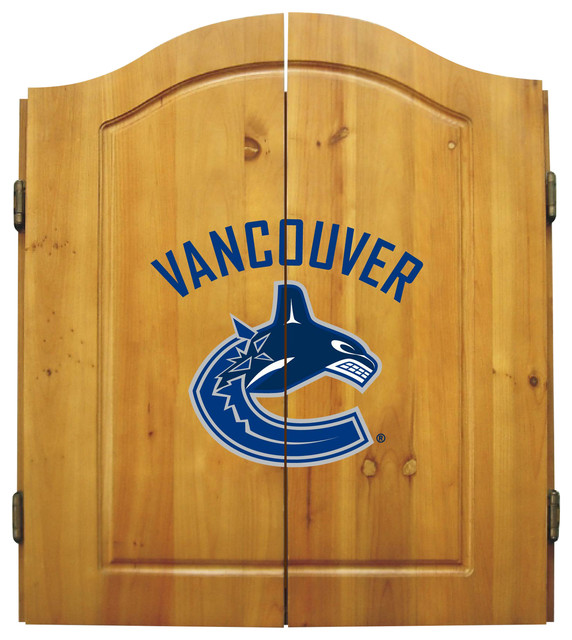 Vancouver Canucks Dart Cabinet - Darts And Dartboards - by Imperial ...