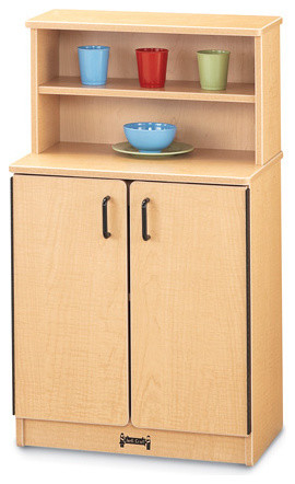 MapleWave Play Kitchen Cupboard - Traditional - Pantry Cabinets - by Jonti-Craft