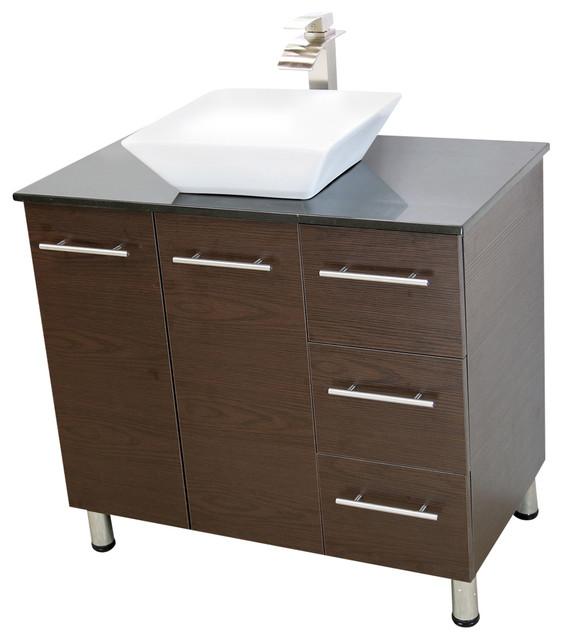 windbay windbay 36 free standing bathroom vanities sink