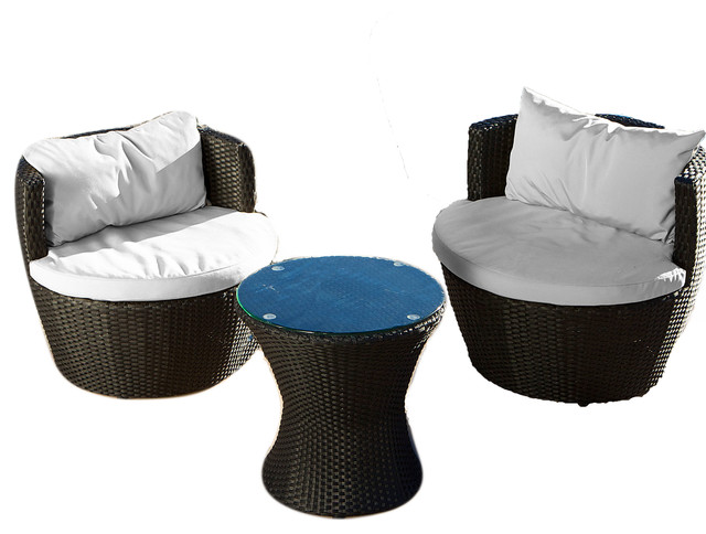 New Beach Style Outdoor Lounge Sets by GDFStudio View Pattaya Outdoor Chat