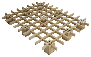 Tic-Tac-Toe Bed, Double
