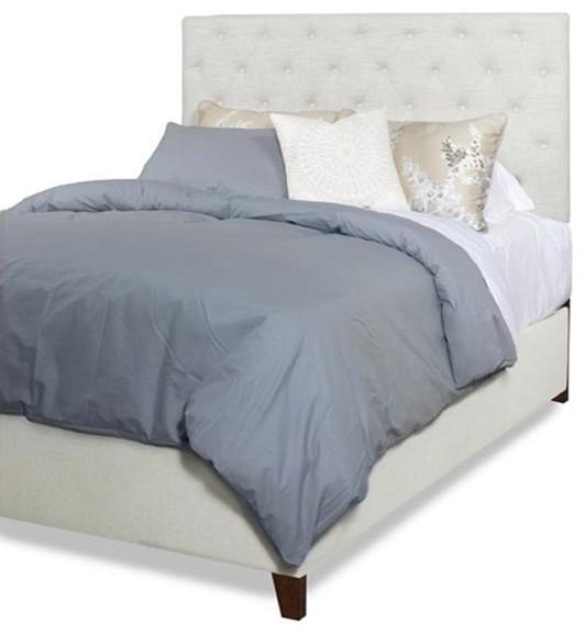 Progressive Furniture Tyler Upholstered Tufted Platform