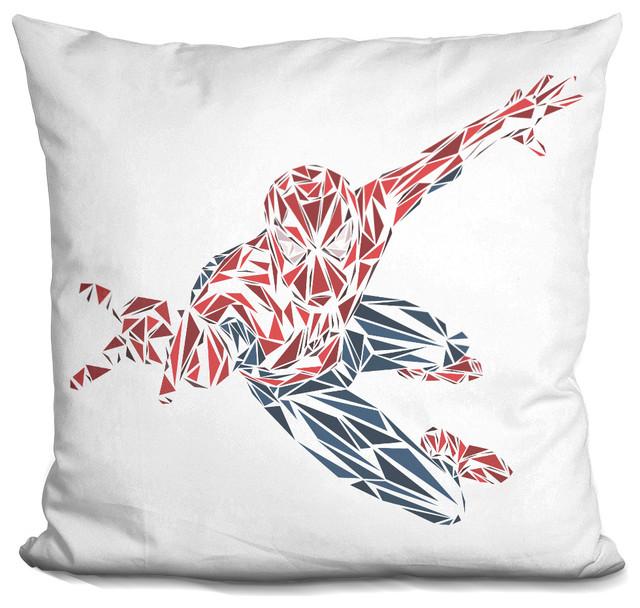 Spiderman Decorative Accent Throw Pillow.
