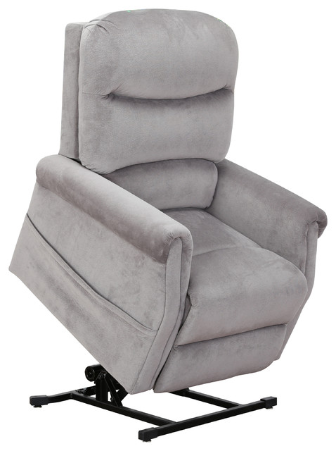 Classic Plush Power Lift Recliner Living Room Chair Transitional Recliner