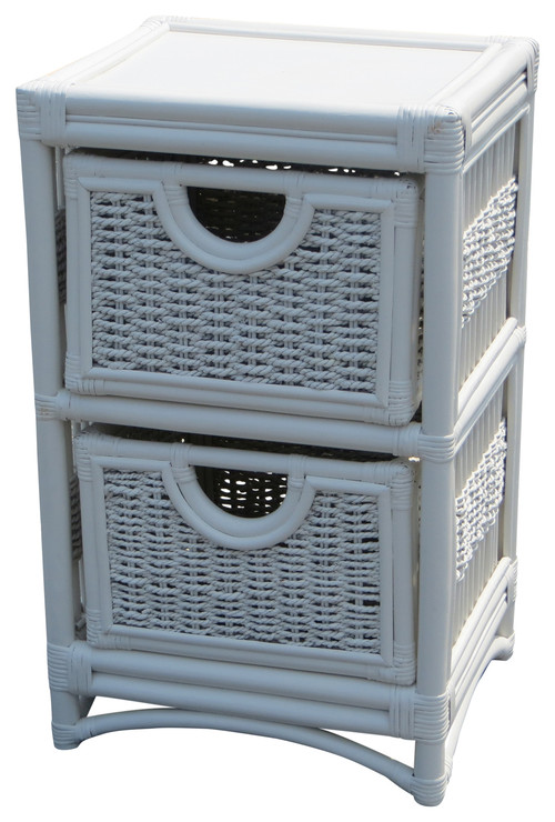 Regatta 2 Drawer Unit, White
