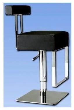 Chintaly Modern Adjustable Height Swivel Stool