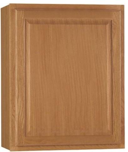 Hampton Wall Cabinet, Oak Cbkw2730-Mo, 27x30.