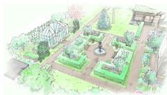 Планировка сада: Усадьба в голландском духе для 3 поколений семьи