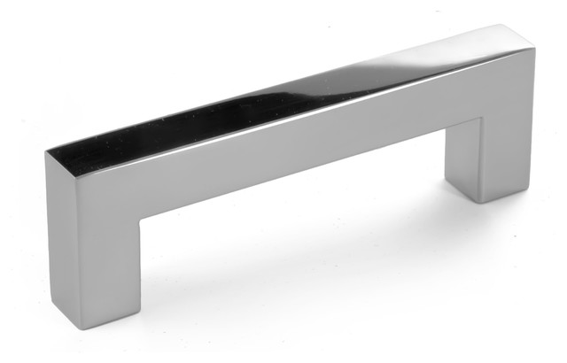 Celeste Square Bar Pull Cabinet Handle Polished Chrome