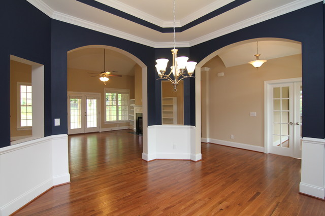 Dining room design traditional raleigh by stanton homes for Dining room design questions