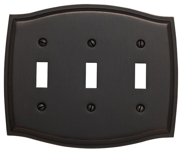 Baldwin hardware colonial 3 toggle wall plate reviews for Outlet colonial