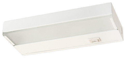 NICOR 30 inch Xenon Undercabinet Light Fixture with Whie Finish