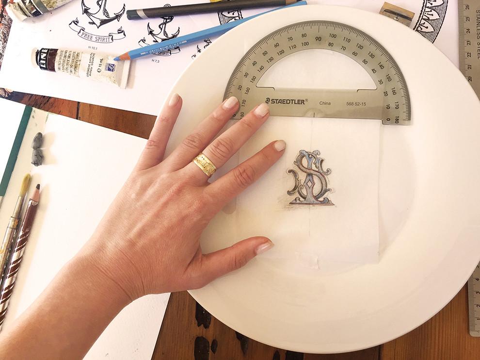 Alix Soubiran Bespoke Porcelain Dinnerwear