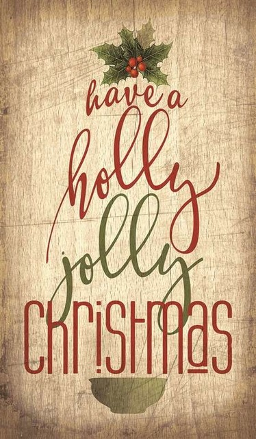 have a holly jolly christmas pallet wall art - Have A Holly Jolly Christmas