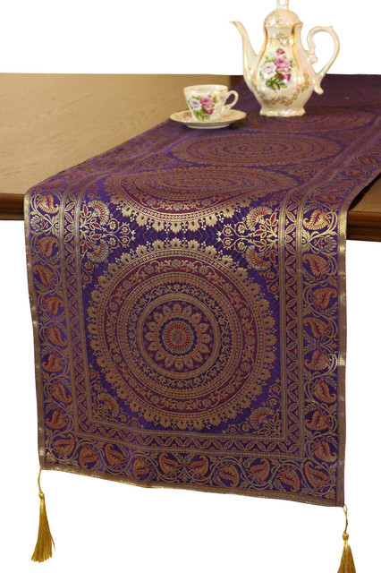 Delightful Exotic Oriental Table Runner Asian Table Runners