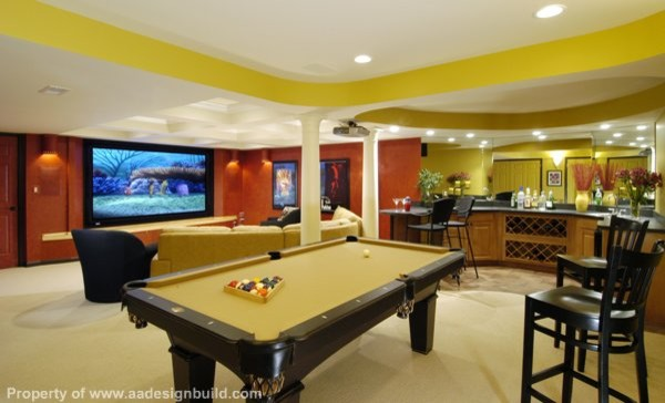 Our completed projects  basement