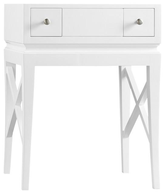Ronbow Essentials Angelica 23 Bathroom Vanity Cabinet Base, White.