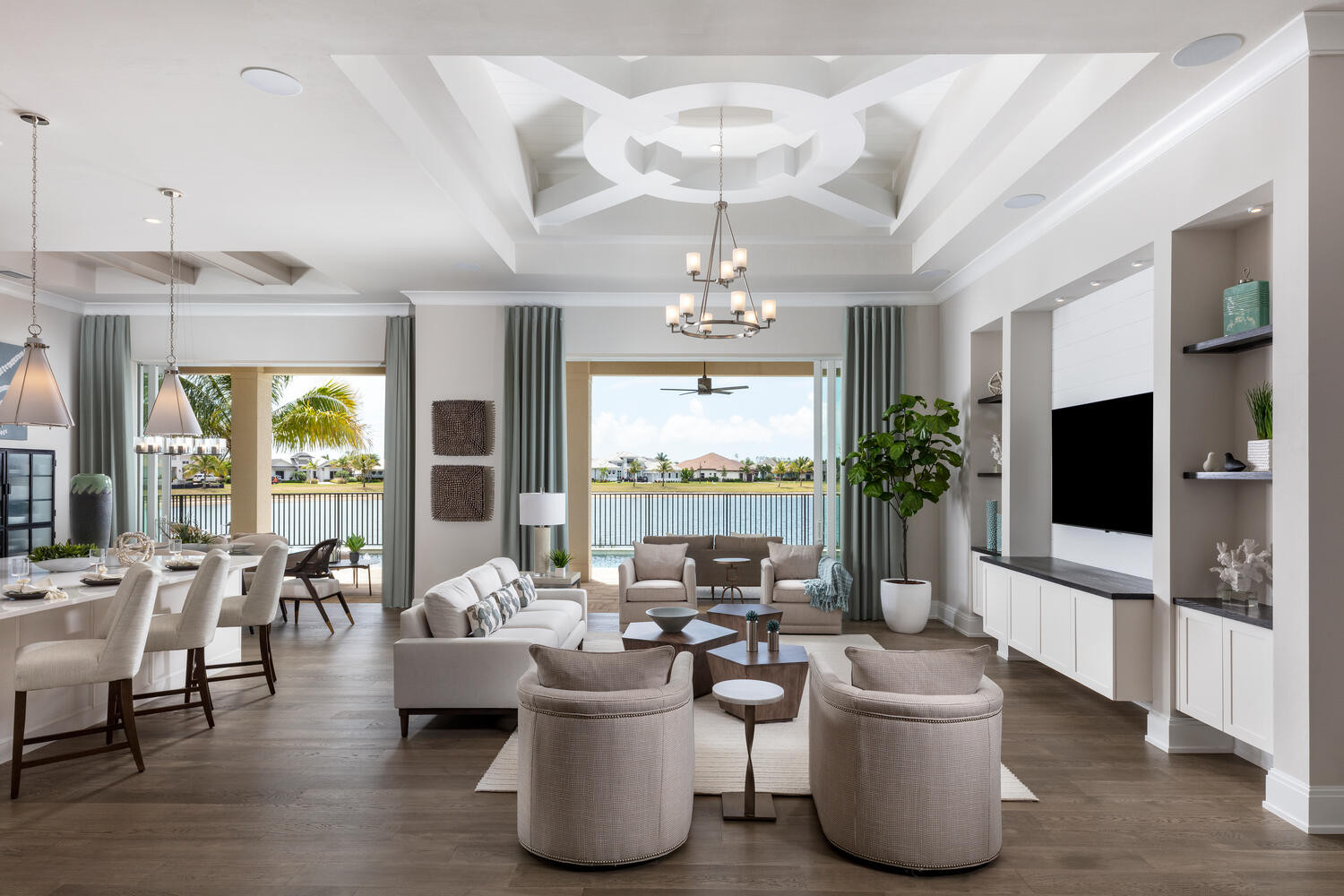 Model Home Summerland Key by Florida Lifestyle Homes