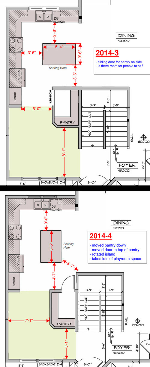 Advice On Kitchen Layout For New Construction Home