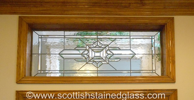 Transom Stained Glass Traditional Austin By Scottish