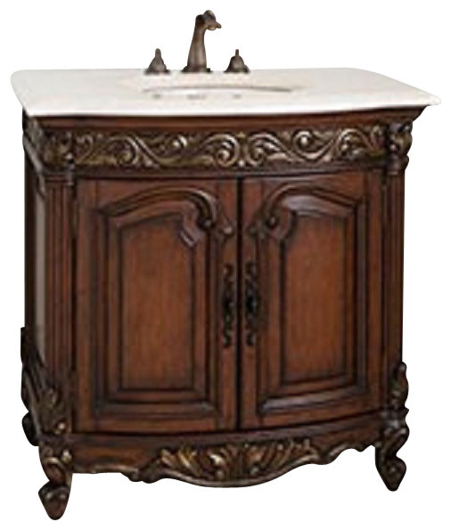 Victorian Kitchen Remodel Collection: Ambella Home Collection Provincial Petite Sink Chest