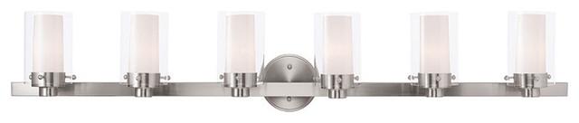 Manhattan Bath Light, Brushed Nickel