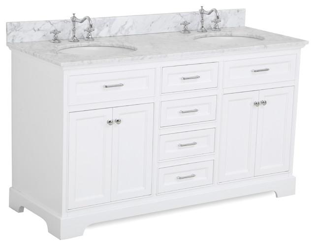 Aria 60 Bath Vanity Transitional Bathroom Vanities And Sink