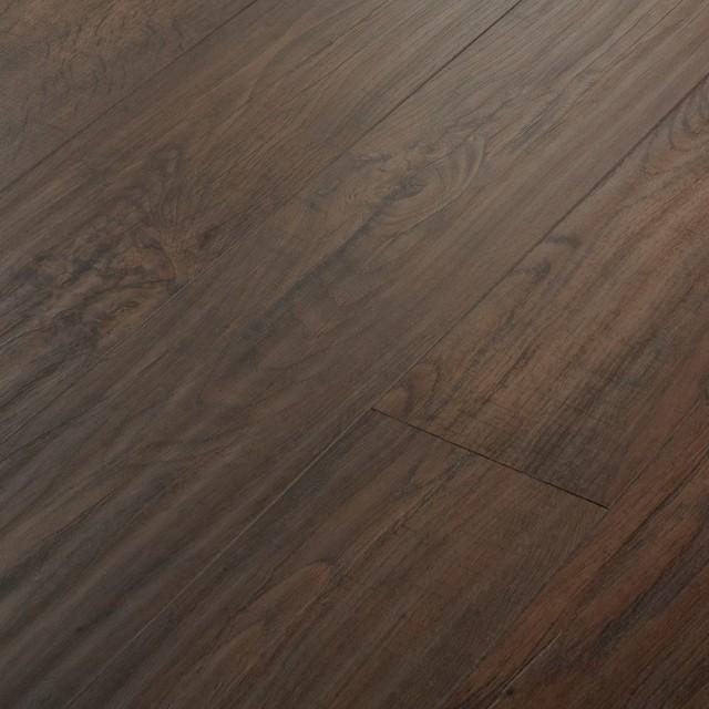 Schreiber Narrow Plank Laminate Flooring Rich Walnut Laminate