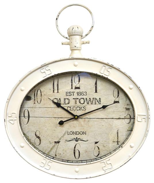 Small Pocket Watch Wall Clock