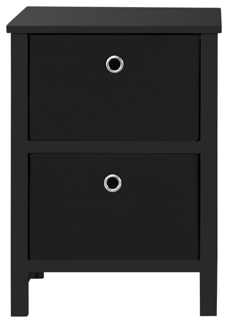 competitive price 68763 e6222 Foldable Furniture 2-Drawer Night Stand, 22