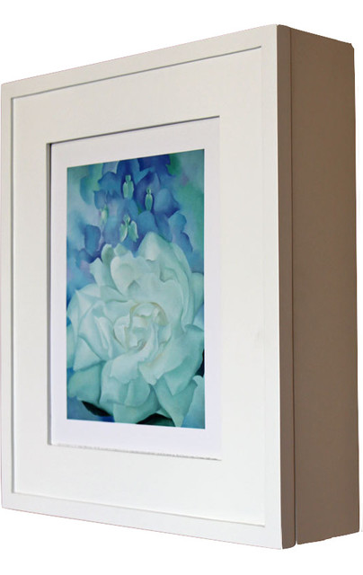 Wall-Mount Picture Perfect Medicine Cabinet - Contemporary - Medicine Cabinets - by i-innovators ...