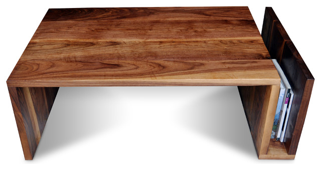 Walnut Coffee Table With Sleeve