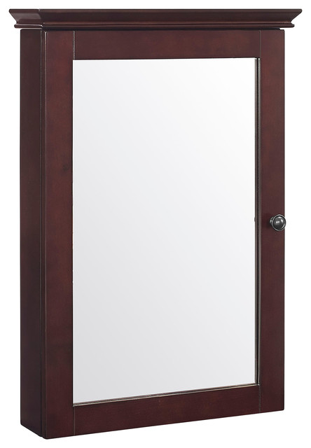Mirrored Wall Cabinet lydia mirrored wall cabinet - transitional - medicine cabinets