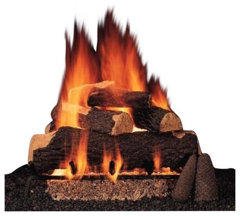 """27"""" Mojo Vent Free Log And Burner Set, Natural Gas"""