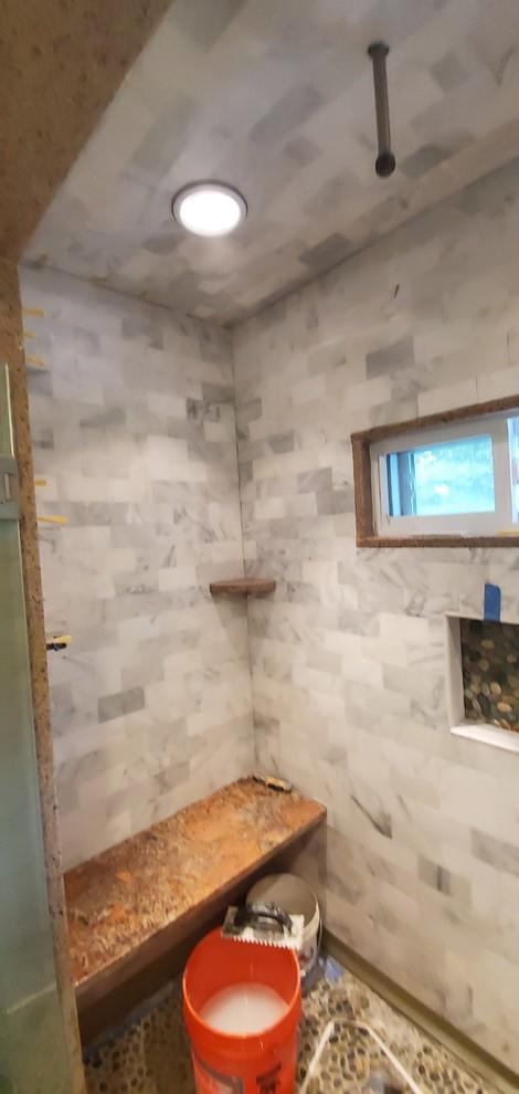 Quincy shower renovation