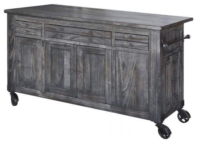 Juno Solid Wood Kitchen Island