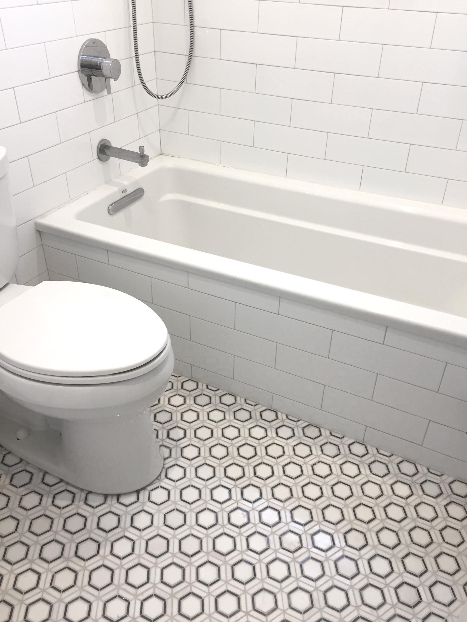 Jersey City Rowhouse Bath