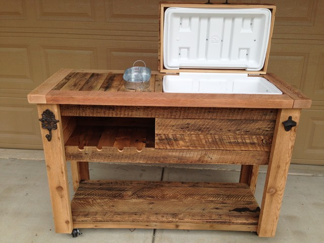 Barn Wood Bars Tables Cabinets Rustic Outdoor Bar
