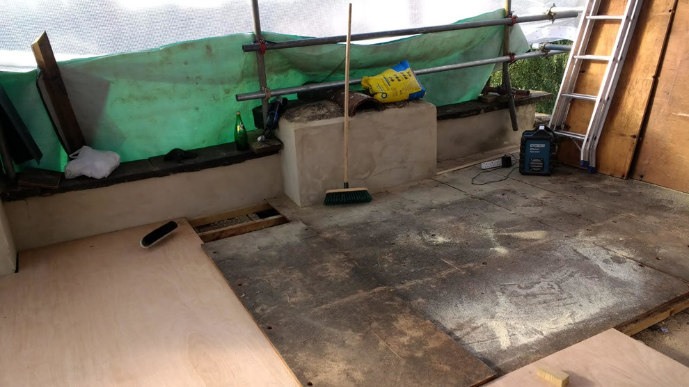 Joists and Renewal of Flat Roof